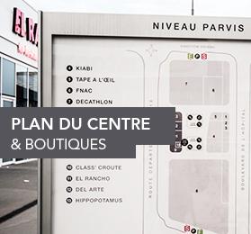 Plan du centre Les Vergers de la Plaine
